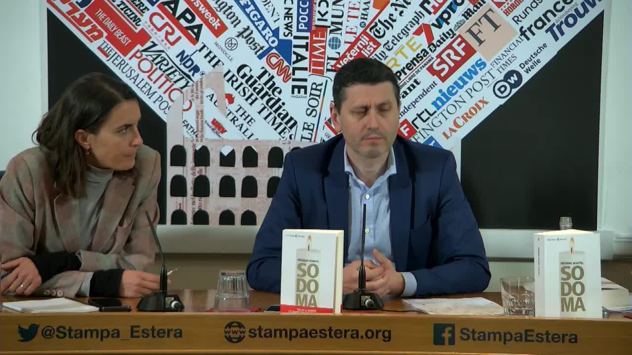 Sodoma - Frédéric Martel presenta l'atteso libro