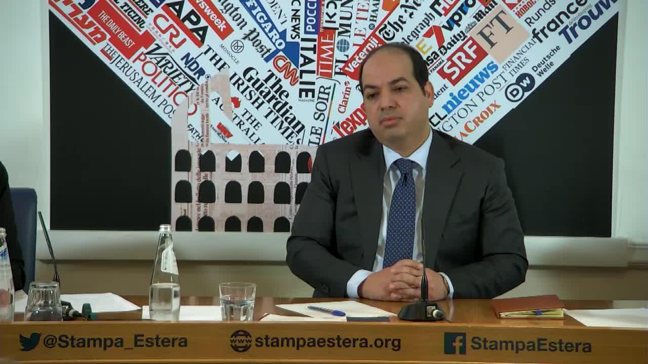 Libia - Ahmed Maiteg, Vice Presidente del Consiglio Presidenziale del Governo di Accordo Nazionale Libico