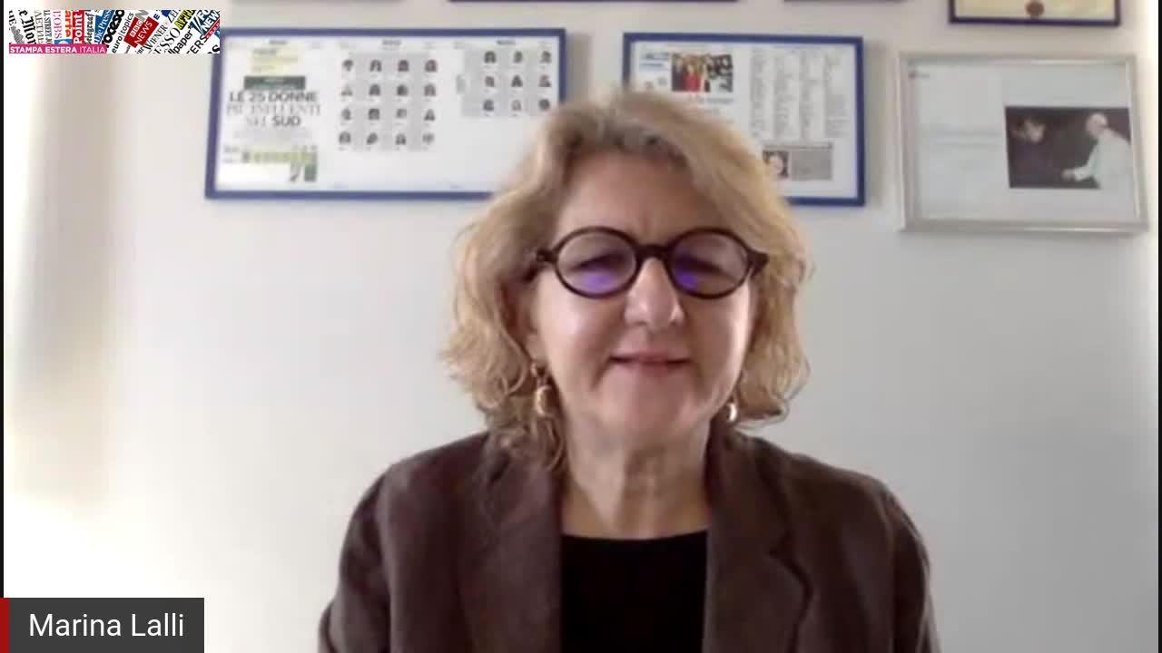 Incontro in streaming con Marina Lalli