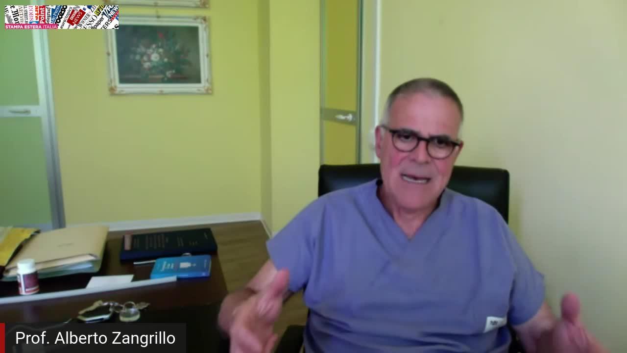 Incontro streaming con il prof. Alberto Zangrillo