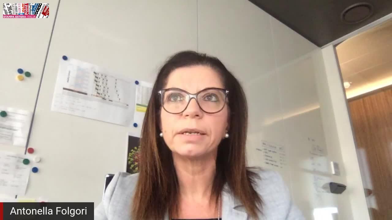 Antonella Folgori, presidente di Reithera