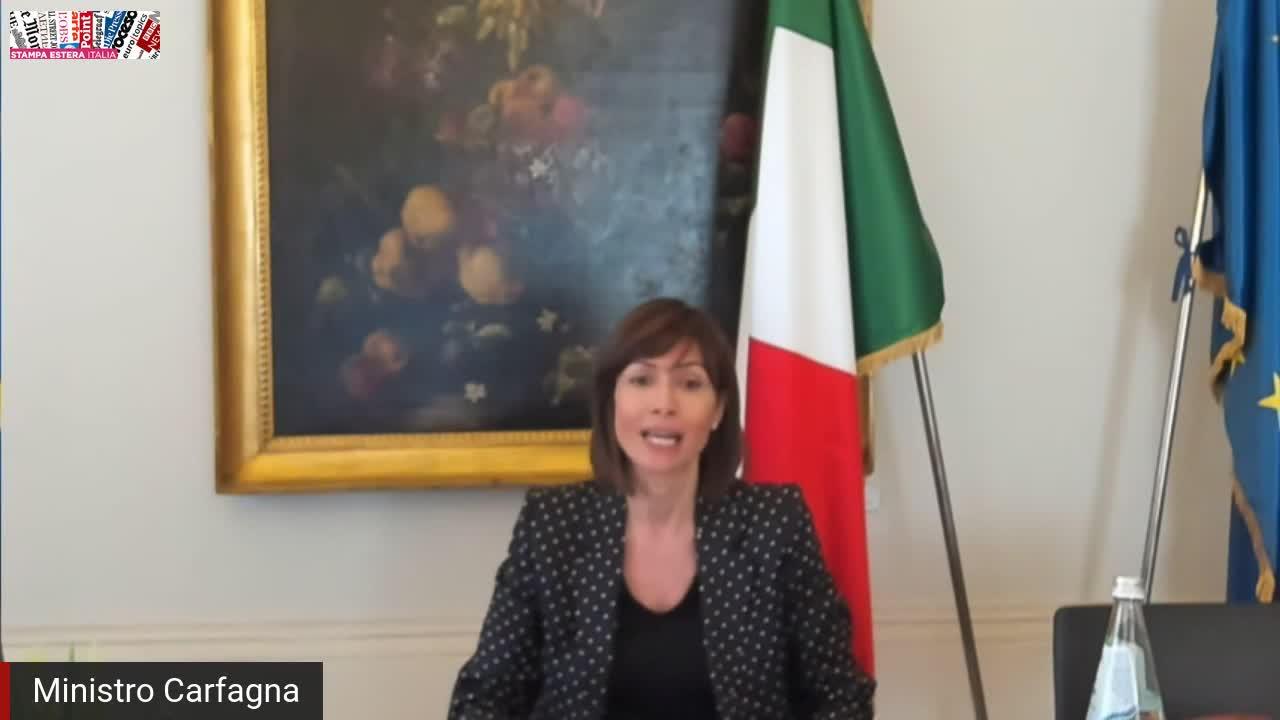 Mara Carfagna - Ministra per il Sud e la Coesione Territoriale