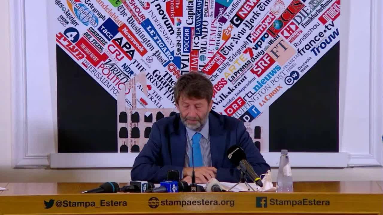 Ministro della Cultura, Dario Franceschini