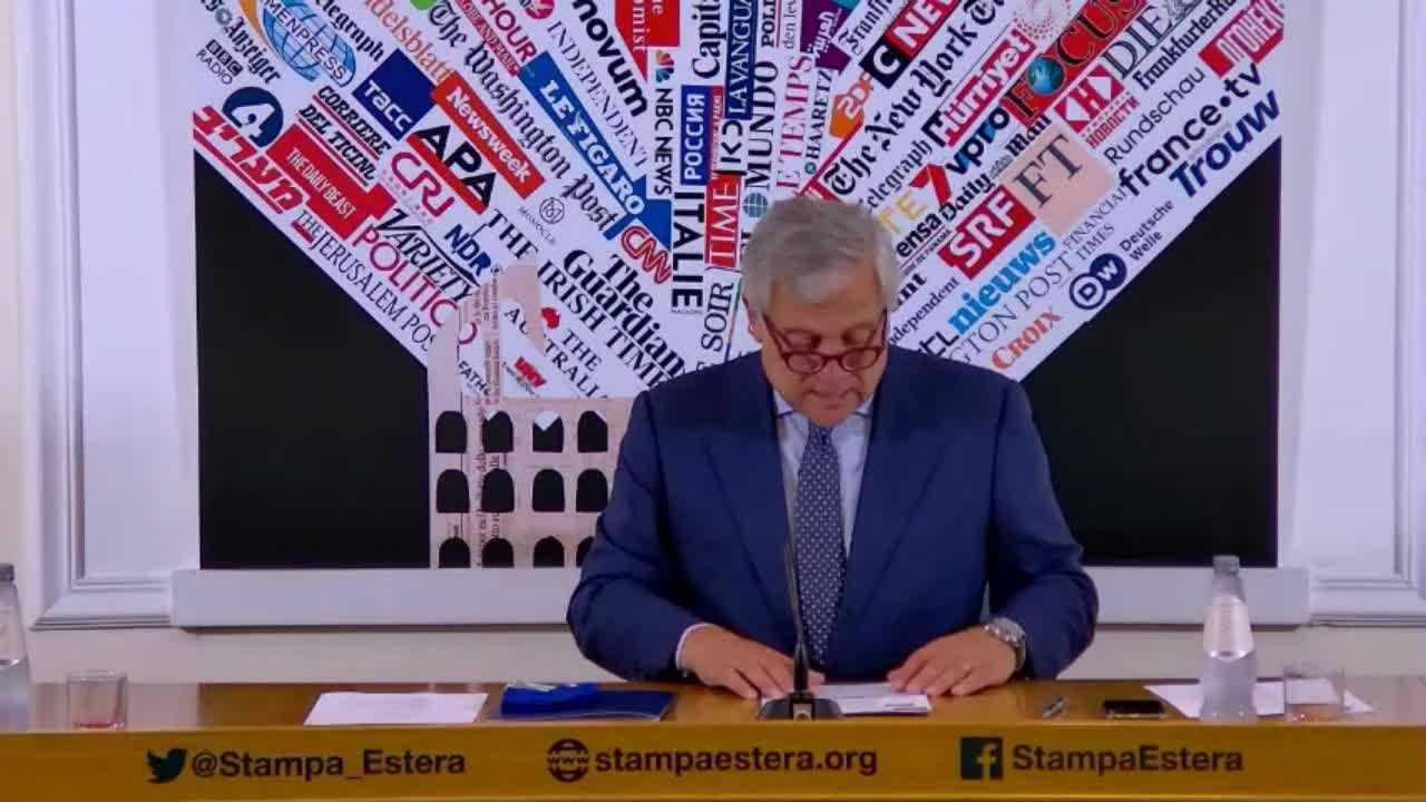 Antonio Tajani presenta il vertice del PPE a Roma dal 20 al 22 settembre.