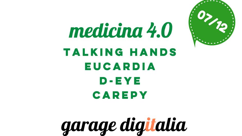 Garage Digitalia #5 Medicina 4.0